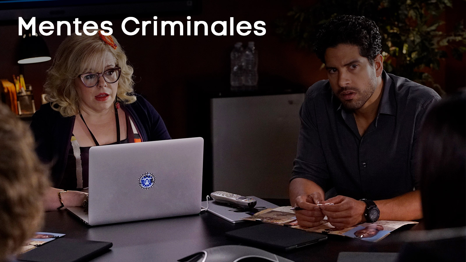 penelope garcia and luke alvez gifs from criminal minds - 600×391